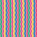 Multicolored Achtergrond van de Golven van de Gradiënt Stock Foto's