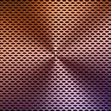 Multicolored achtergrond van het metaalscherm Stock Foto