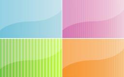 Multicolored achtergronden Royalty-vrije Stock Fotografie