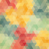 Multicolored angular wattled pattern background Royalty Free Stock Photo