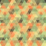 Multicolored angular wattled pattern background Stock Photo