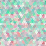 Multicolored angular wattled pattern background Stock Images