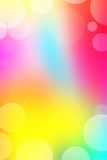 Multicolored Background. A blurred multicolored background with transparent bubbles Stock Photos