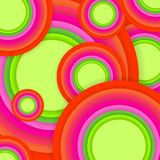 Multicolored background. Illustration of multicolored round shapes background Royalty Free Stock Photos