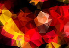 Multicolored background polygon Stock Photo