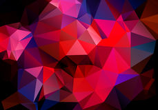 Multicolored background polygon Royalty Free Stock Image