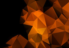 Multicolored background polygon Royalty Free Stock Photography