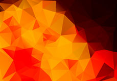 Multicolored background polygon Stock Image