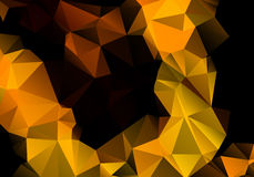 Multicolored background polygon Royalty Free Stock Photo