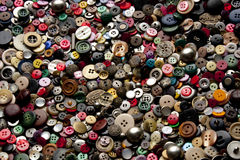 Multicolored background. sewing buttons. Fashion Royalty Free Stock Photos