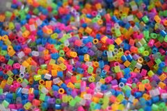 A multicolored background of tubes, royalty free stock images