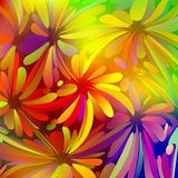 Multicolored Background Watercolor Painting Stock Photos