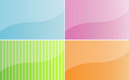Multicolored backgrounds Royalty Free Stock Photography