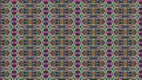 Multicolored bad tv imitation light transformations holographic background. Looped animation.