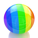 Multicolored ball Royalty Free Stock Photos