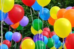 multicolored ballons Royalty-vrije Stock Fotografie