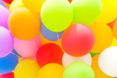 Multicolored Balloon Background Royalty Free Stock Photos