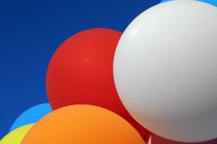Multicolored balloons Stock Photos