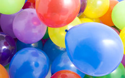 Multicolored Balloons Background Royalty Free Stock Images