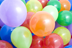 Multicolored Balloons Background Royalty Free Stock Photo