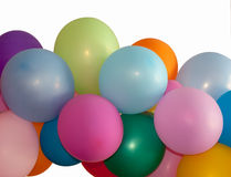 Multicolored balloons Stock Photo