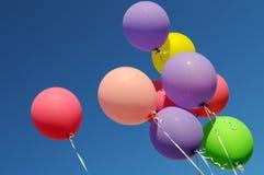 Multicolored balloons Stock Photos
