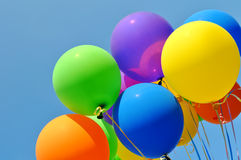 Multicolored balloons Royalty Free Stock Images