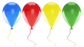 Multicolored balloons Royalty Free Stock Image
