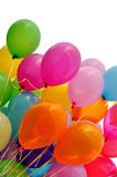 Multicolored balloons Royalty Free Stock Photos