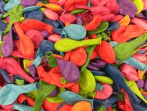 Multicolored baloons Stock Image