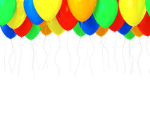 Multicolored baloons Stock Photography