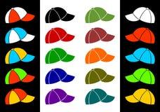 Free Multicolored Baseball Cap. Stock Photos - 27487923