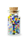 Multicolored beads Royalty Free Stock Photo