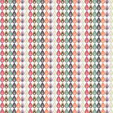 Multicolored bladerenpatroon Stock Foto