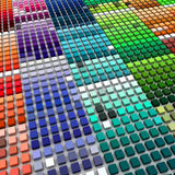 Multicolored blocks Stock Photos