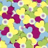 Multicolored bloemen Royalty-vrije Illustratie