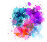 Multicolored blot Royalty Free Stock Photo