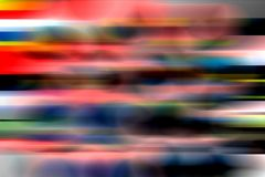 Multicolored blurred shaded background wallpaper. vivid color vector illustration. Many uses for advertising, book page, paintings, printing, mobile stock illustration