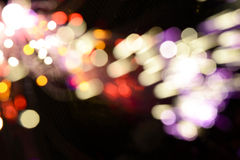 Multicolored Blurry Lights Background Stock Photography