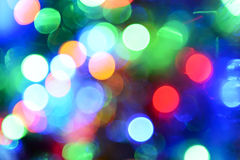 multicolored blurry lights background Stock Photos