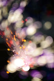 multicolored blurry lights background Royalty Free Stock Image