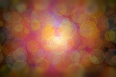 Multicolored bokeh with light source stock photos