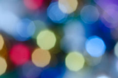 Multicolored bokeh lights background Royalty Free Stock Photos