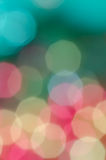 Multicolored bokeh lights background Royalty Free Stock Photography
