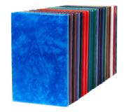Multicolored book Stock Images