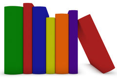 Multicolored Books Royalty Free Stock Photos