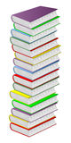 Multicolored books. Royalty Free Stock Images