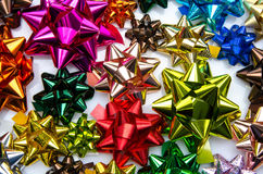Multicolored bows Royalty Free Stock Photo