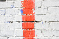 Multicolored brick wall Stock Photography