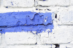 Multicolored brick wall Royalty Free Stock Image